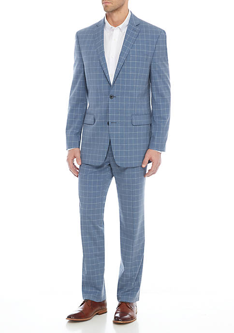 MICHAEL Michael Kors Light Blue Suit