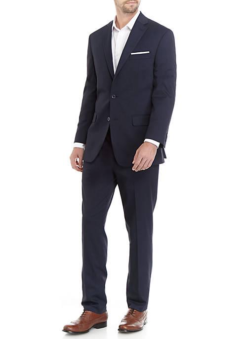Navy Blue Stripe Suit