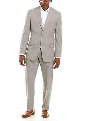 f62855b4021 MICHAEL Michael Kors Light Gray Solid Tic Suit Set ...