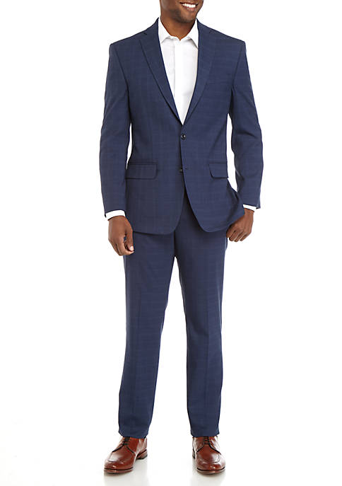 MICHAEL Michael Kors Mens Gray Shark Suit Set