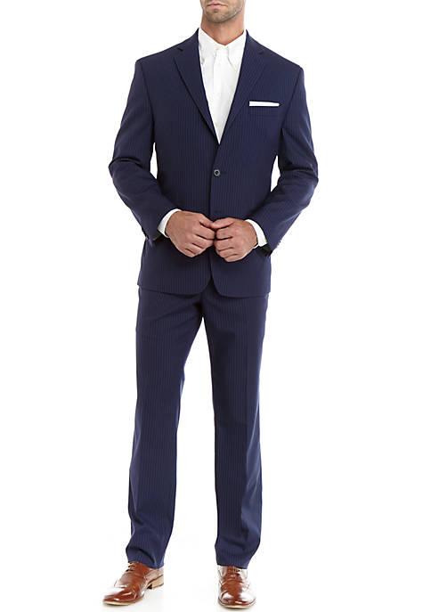 Mens Striped Suit