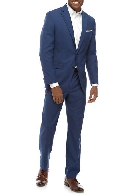 MICHAEL Michael Kors Mens Bright Blue Shark Suit