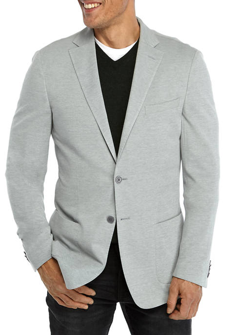MICHAEL Michael Kors Mens Light Gray Knit Sport