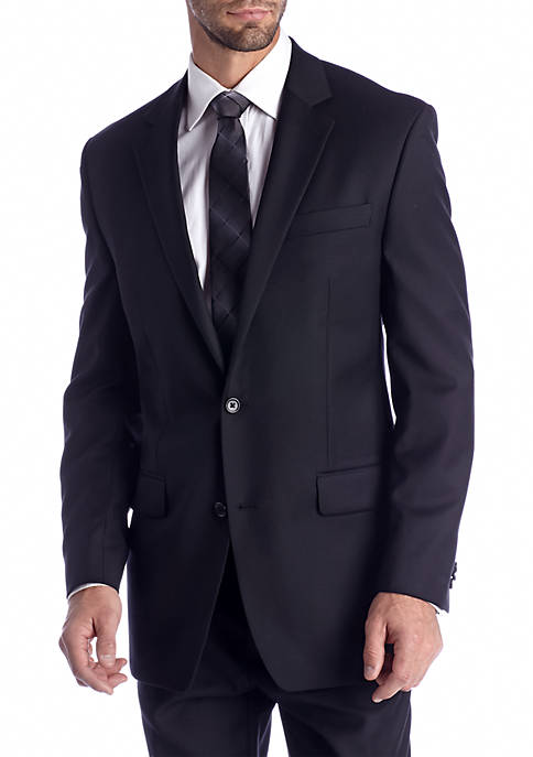 MICHAEL Michael Kors Classic Fit Black Solid Suit