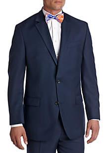 Classic Fit Solid Suit Separate Coat