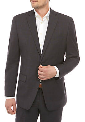 Solid Wool Natural Stretch Sportcoat