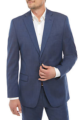 Natural Wool Stretch Classic Fit Suit Separate Coat