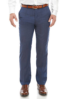Natural Wool Stretch Classic Fit Pants Separate