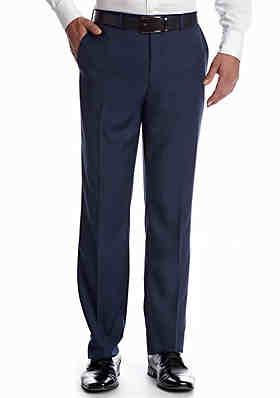 8a525bafb604 MICHAEL Michael Kors Classic Fit Solid Flat Front Suit Separate Pants ...
