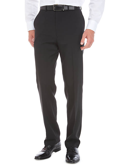 Stretch Flat Front Pants