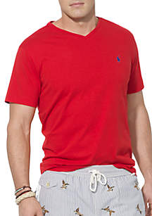 Big & Tall Classic-Fit Jersey V-Neck Tee