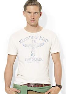 Classic-Fit Camp Crewneck T-Shirt