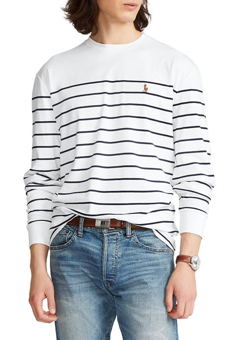 Polo Ralph Lauren Classic Fit Striped Soft Cotton