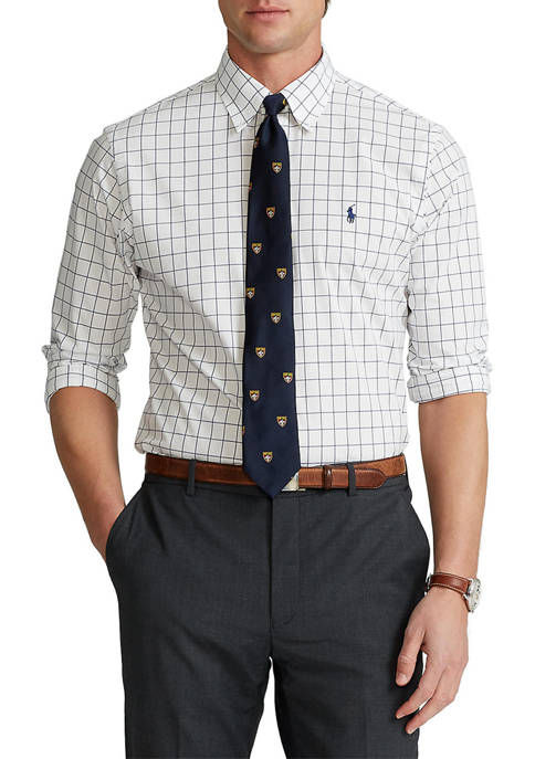 Polo Ralph Lauren Classic Fit Checked Stretch Poplin