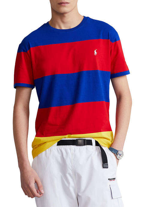 Classic Fit Striped Jersey T-Shirt