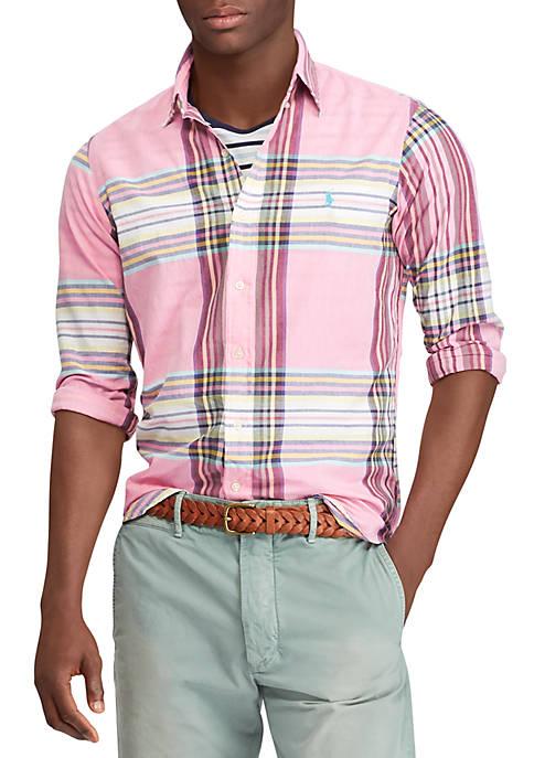 Discount Polo Ralph Lauren Classic Fit Madras Shirt
