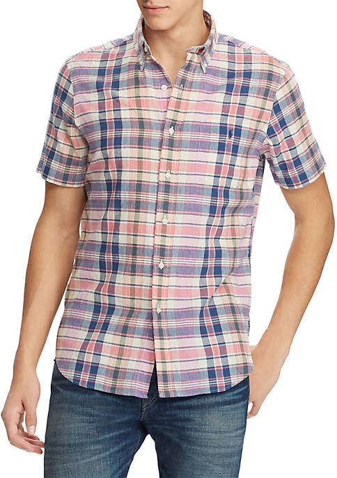 Polo Ralph Lauren Classic Fit Madras Shirt