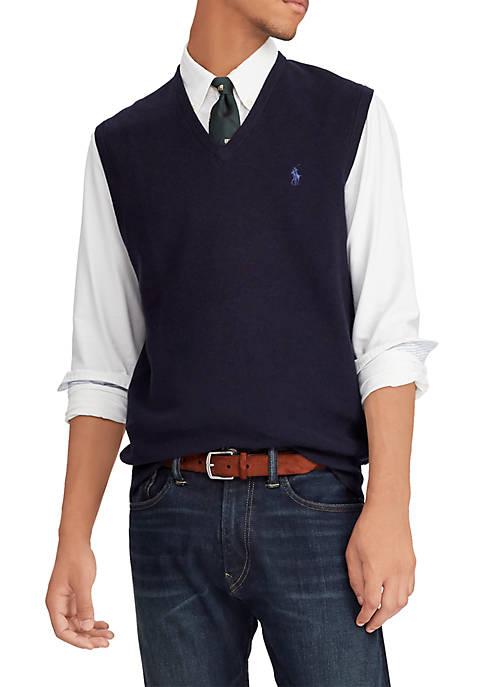 Polo Ralph Lauren Cotton V-Neck Sweater Vest