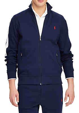 Polo Ralph Lauren Cotton Interlock Track Jacket ... 2791e0e29