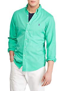 Polo Ralph Lauren Slim Fit Button Down Twill Shirt