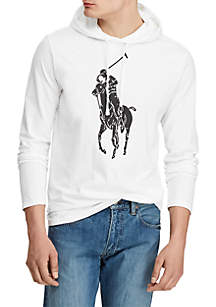 Polo Ralph Lauren Big Pony Jersey Hooded Tee