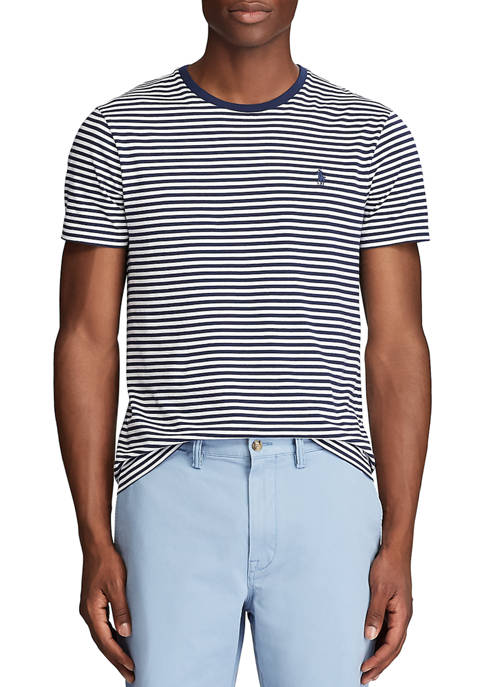 Classic Fit Striped Tee