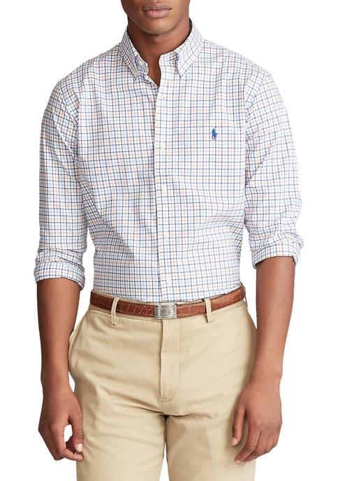 Slim Fit Checked Shirt