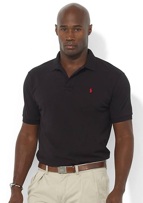 Big & Tall Classic-Fit Mesh Polo