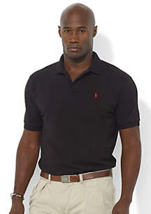 Big & Tall Classic-Fit Mesh Polo