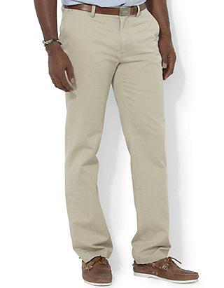 491637aa28 Polo Ralph Lauren Big & Tall Classic Fit Chino Flat Front Pants   belk
