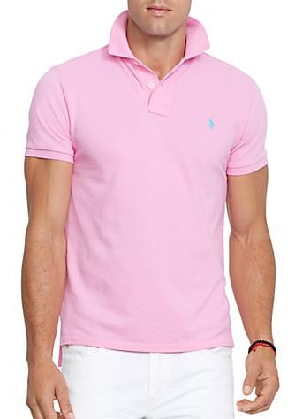 Shirt Ralph Mesh Polo Lauren Fit Custom v8m0nyNwO