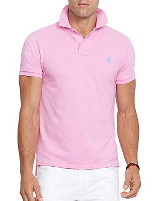 0ef30591b Polo Ralph Lauren Custom-Fit Mesh Polo Shirt