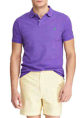 ac066340 Polo Ralph Lauren Classic Fit Mesh Polo Shirt ...
