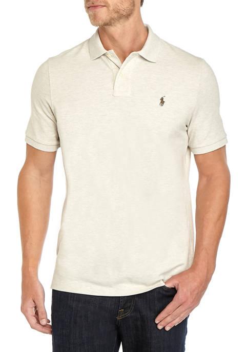 Polo Ralph Lauren Mens Basic Mesh Short Sleeve