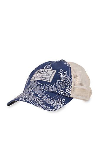 13305f461c2 Polo Ralph Lauren Bandanna Trucker Hat