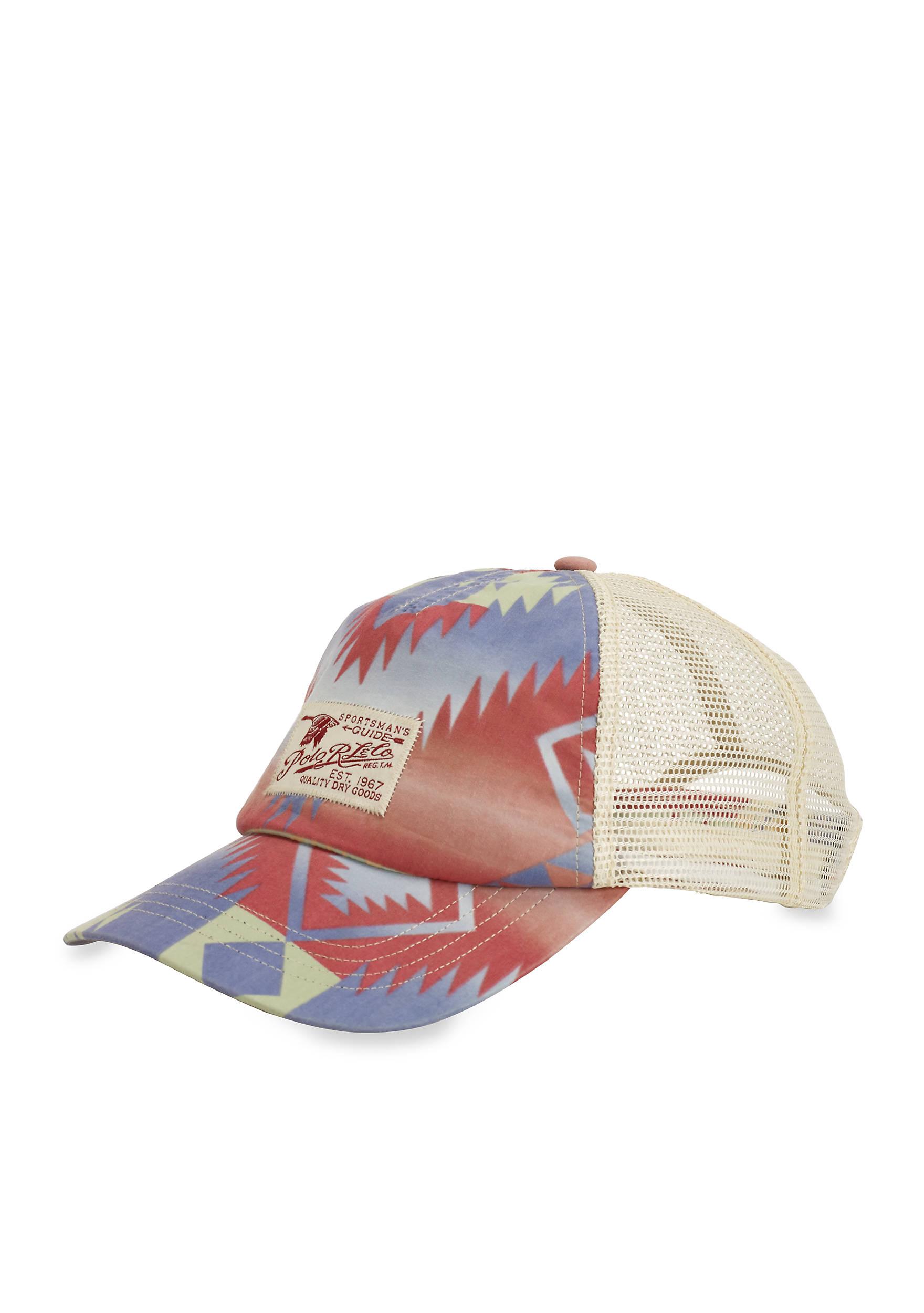 46713987d83 Polo Ralph Lauren Camo Trucker Hat