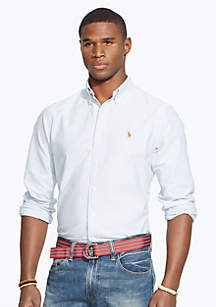 Multi-Striped Oxford Shirt