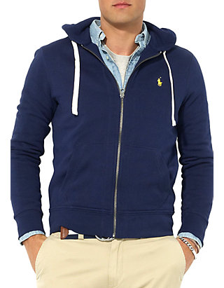 32f1ca72aba421 Polo Ralph Lauren Full-Zip Fleece Hoodie | belk