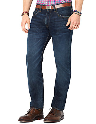 6b60e5ea6 Polo Ralph Lauren Straight-Fit Lightweight Morris-Wash Jeans
