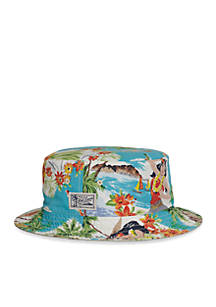 87c7a9942b1 Polo Ralph Lauren Reversible Tropical Bucket Hat ...