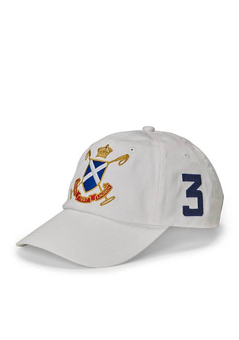 f96c0d377db Polo Ralph Lauren BlackWatch Cotton Baseball Cap. BlackWatch Cotton  Baseball Cap