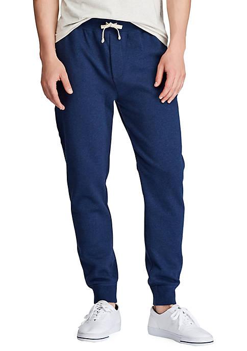Cotton Blend Fleece Jogger Pants