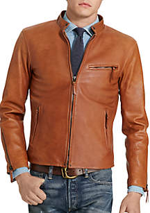 Lambskin Cafe Racer Jacket