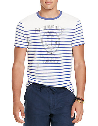 T Ralph Cotton Lauren Graphic Jersey Shirt Polo Pk8n0wO