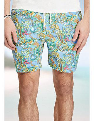f59b82fb036ae Polo Ralph Lauren. Polo Ralph Lauren 5.75-in. Traveler Swim Trunks