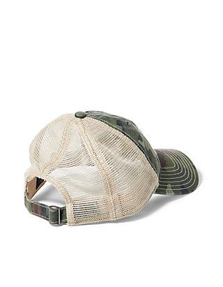00d2034c Polo Ralph Lauren Camo Mesh Trucker Hat | belk