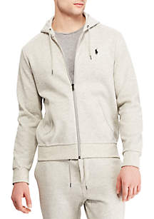 Double Knit Tech Full Zip Hoodie