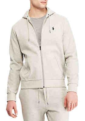 e95c9d09a40 Polo Ralph Lauren Double Knit Tech Full Zip Hoodie ...