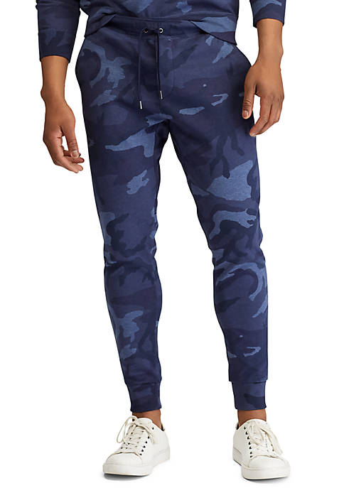 Polo Ralph Lauren Camo Double-Knit Joggers