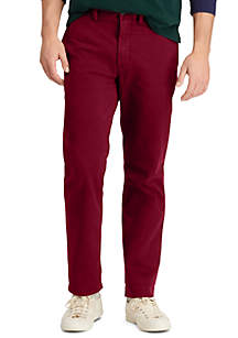 Classic Fit Cotton Chino Pants